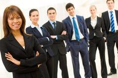 Succesvolle ondernemer Stock Afbeeldingen