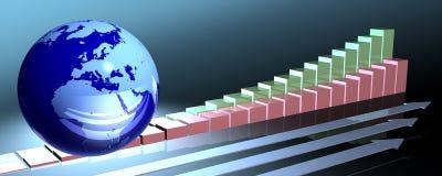 Succesvolle ontwikkeling Stock Afbeelding