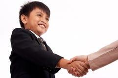 Succesvolle overeenkomst Stock Afbeeldingen