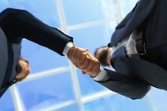 Succesvolle overeenkomst na grote vergadering Royalty-vrije Stock Afbeelding
