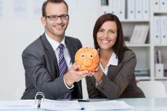 Succesvolle partners Royalty-vrije Stock Afbeeldingen