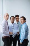 Succesvolle zakenlieden Royalty-vrije Stock Afbeeldingen