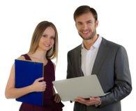 De man en de vrouw van managers Stock Afbeelding