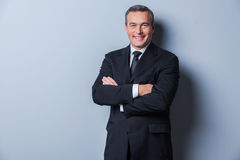 Succesvolle zakenman Stock Foto
