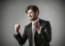 Succesvolle zakenman Stock Fotografie