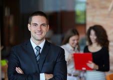 Succesvolle zakenman Stock Foto's