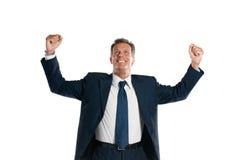 Succesvolle zakenman Royalty-vrije Stock Afbeelding