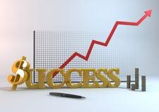 Succeszaken Stock Afbeelding