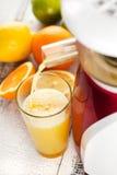 Succo d'arancia. Fotografia Stock