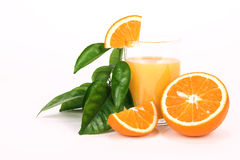 Succo d'arancia Immagini Stock Libere da Diritti