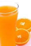 Succo d'arancia Fotografie Stock