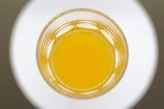 Succo d'arancia delizioso in un vetro Fotografia Stock Libera da Diritti