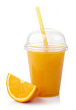 Succo d'arancia fresco Immagine Stock Libera da Diritti
