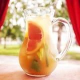 Succo del cocktail della frutta fresca Fotografia Stock Libera da Diritti