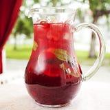 Succo del cocktail della frutta fresca Fotografia Stock