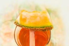 Succo del melone Fotografia Stock