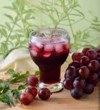 Succo dell'uva Fotografia Stock