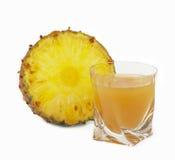 Succo di ananas immagine stock libera da diritti