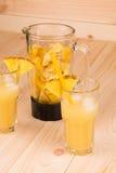 Succo di ananas Immagine Stock