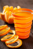 Succo di arancia Fotografia Stock