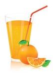 Succo di arancia Illustrazione di Stock