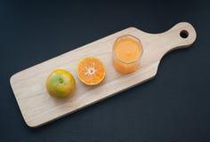 Succo di arancia Fotografie Stock