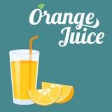 Succo di arancia Immagini Stock Libere da Diritti