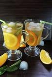 Succo di arancia compresso fotografie stock libere da diritti