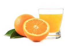 Succo di arancia fresco Immagine Stock