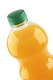 Succo di frutta arancione isolato immagine stock