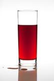 Succo di frutta rosso Fotografia Stock