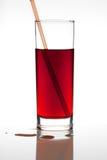 Succo di frutta rosso Fotografie Stock
