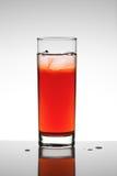 Succo di frutta rosso Immagine Stock Libera da Diritti