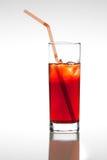 Succo di frutta rosso Fotografie Stock Libere da Diritti