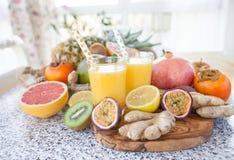 Succo di frutta urgente fresco fotografia stock