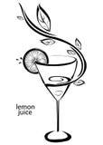 Succo di limone Illustrazione di Stock
