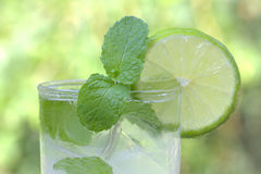 Succo di limone Fotografie Stock