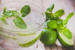 Succo di limone Fotografia Stock