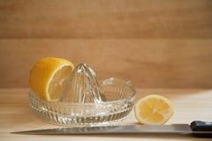 Succo di limone Immagine Stock