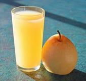 Succo di pera e pera Immagini Stock Libere da Diritti