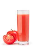 Succo di pomodoro. Immagine Stock Libera da Diritti