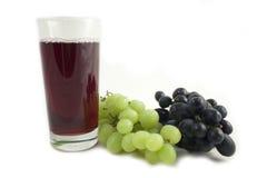 Succo di uva Immagini Stock