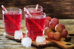 Succo di uva fresco Immagine Stock