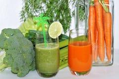 Succo di verdura Immagini Stock Libere da Diritti