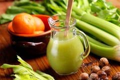 Succo di verdura fresco fotografia stock