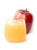 succo e mele di mele naturali Immagine Stock Libera da Diritti