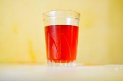 Succo rosso Fotografia Stock