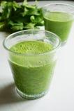 Succo verde della disintossicazione Immagini Stock