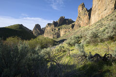 Succor Creek. Natural Area, Oregon Stock Images