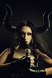 Succubus with sword Stock Photography
